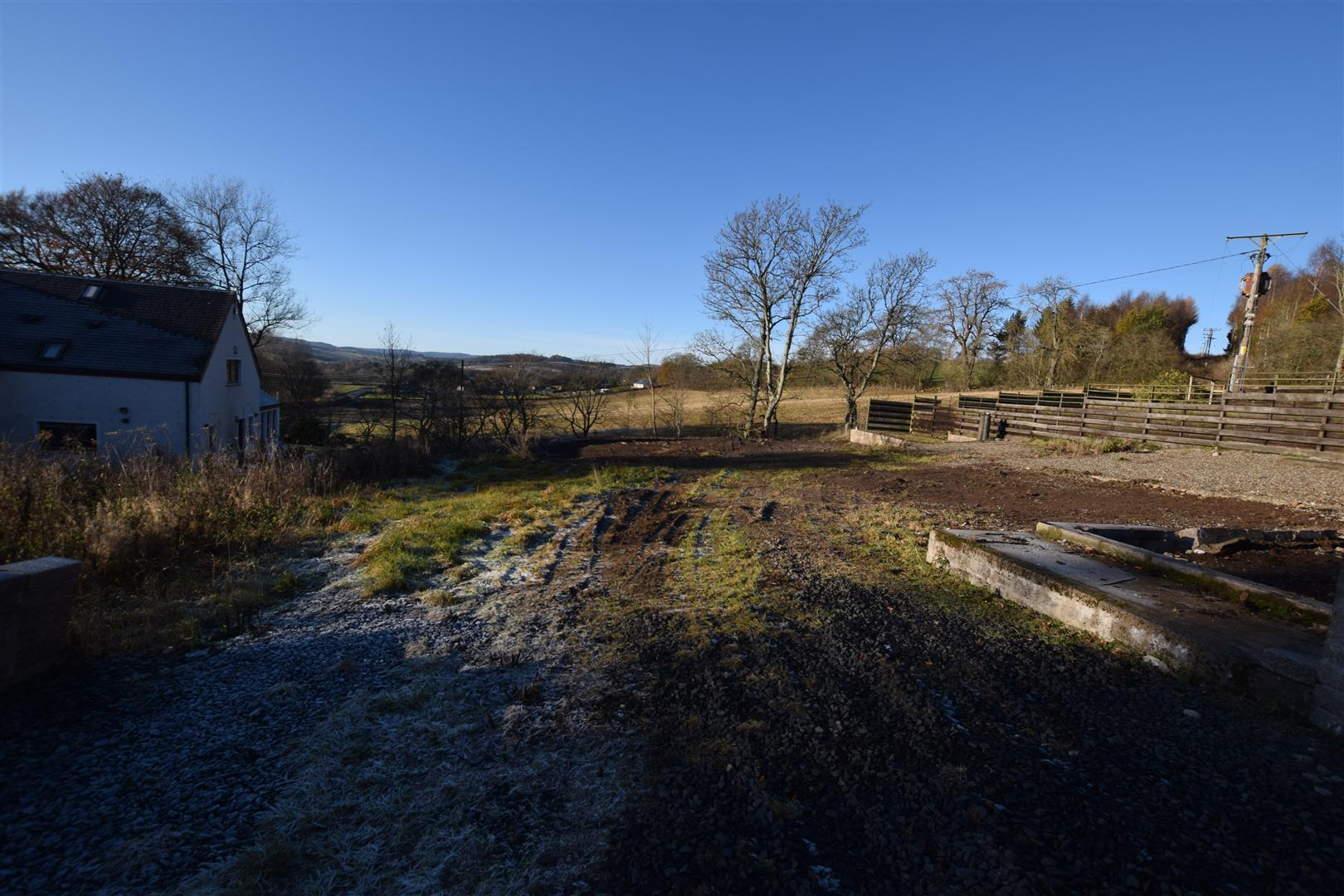Lochview and plot, Kinloch, Blairgowrie, Perthshire, PH10 6SD, UK